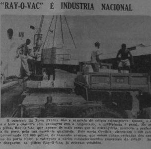 As Pilhas Ray-O-Vac Chegam a Manaus