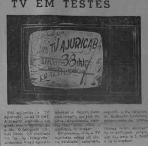Manaus Sintonizada: TV Ajuricaba em testes