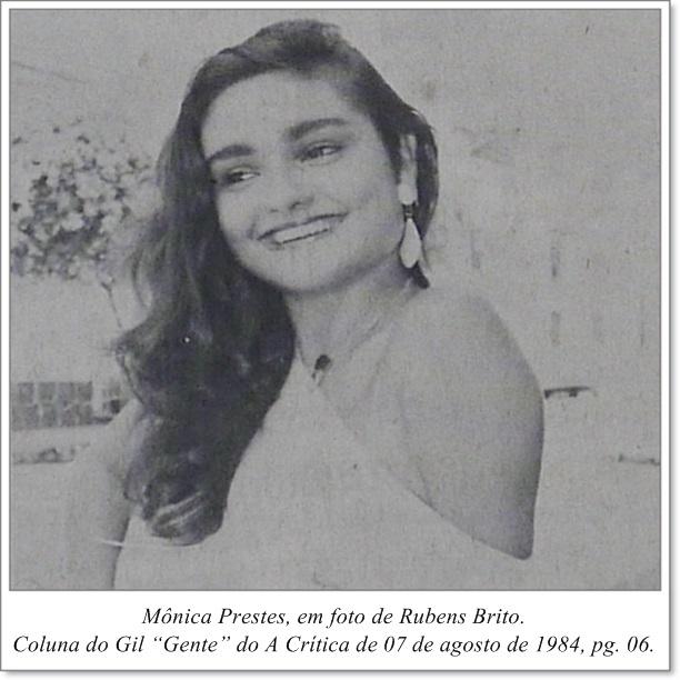 Fotografia de Mônica Prestes - Instituto Durango Duarte 1984