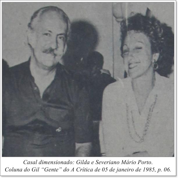 Gilda e Severiano Mário Porto - Instituto Durango Duarte 1985