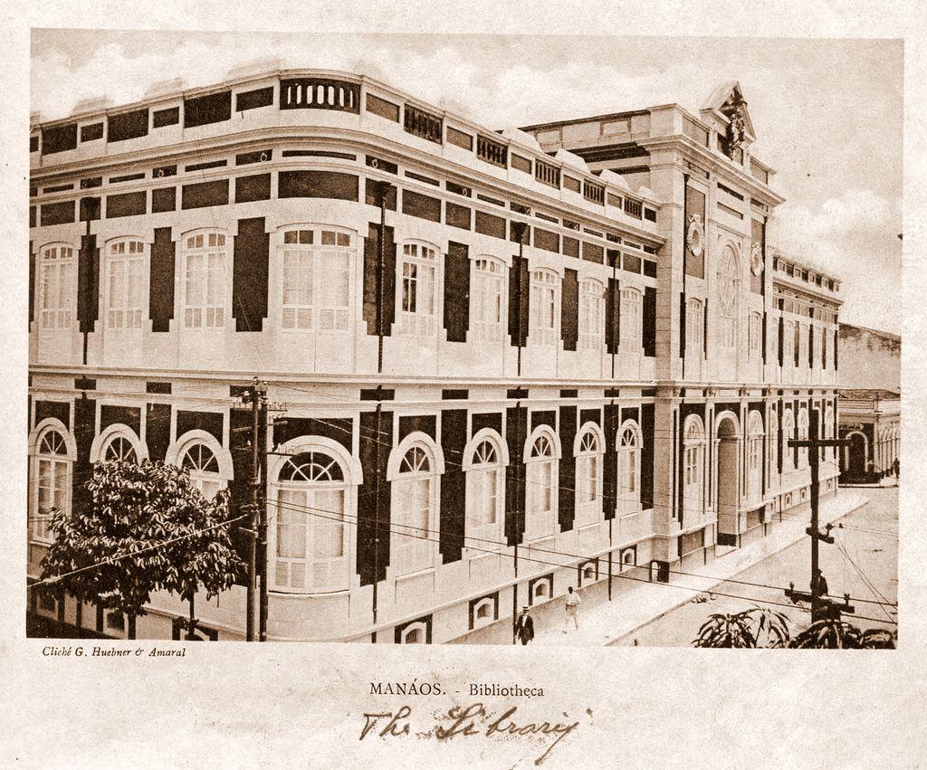 A Biblioteca Pública do Amazonas