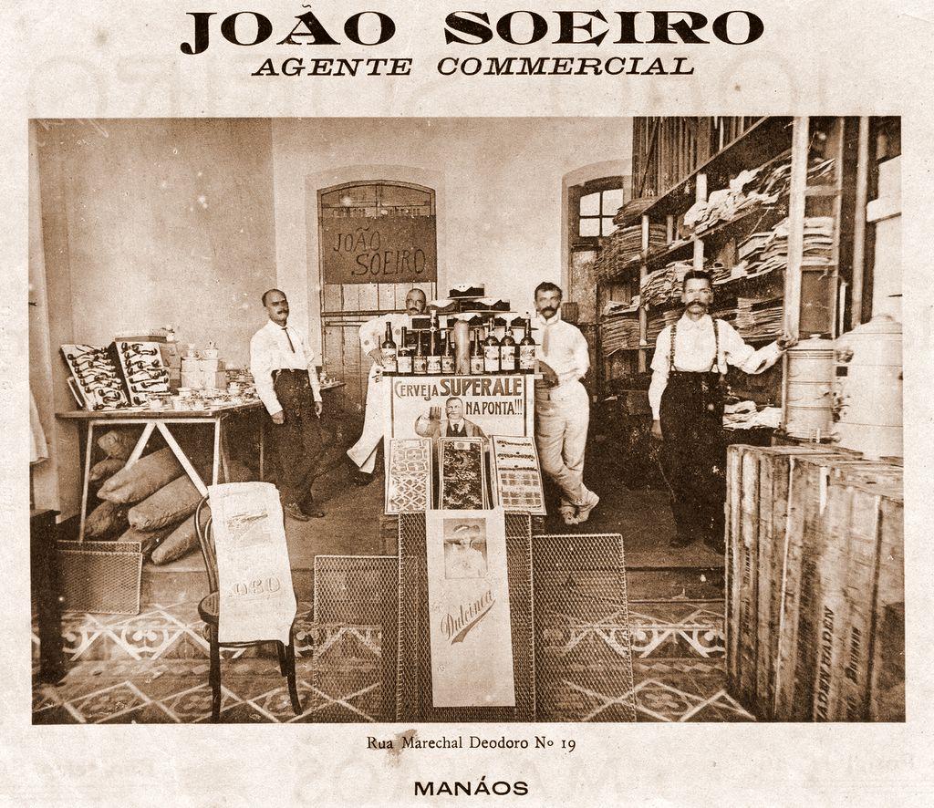 Fachada do Comércio de João Soeiro