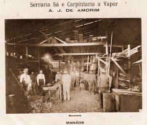 Serraria Sá e Carpintaria a vapor