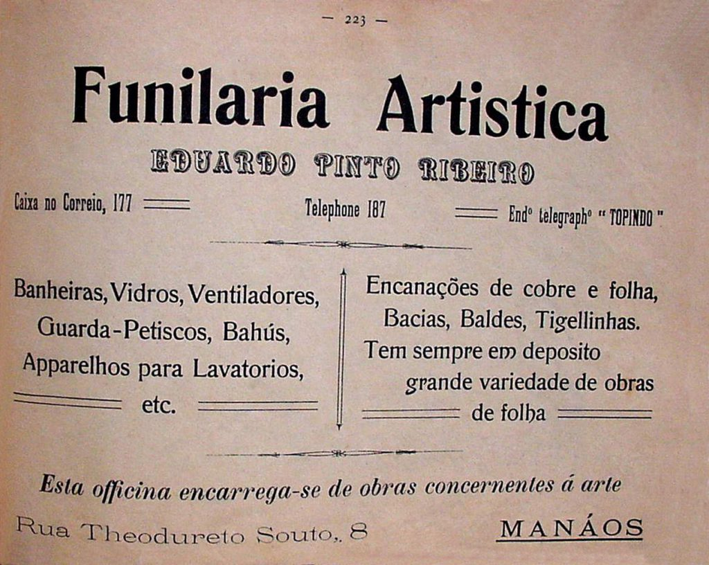 Propaganda da Funilaria Artística