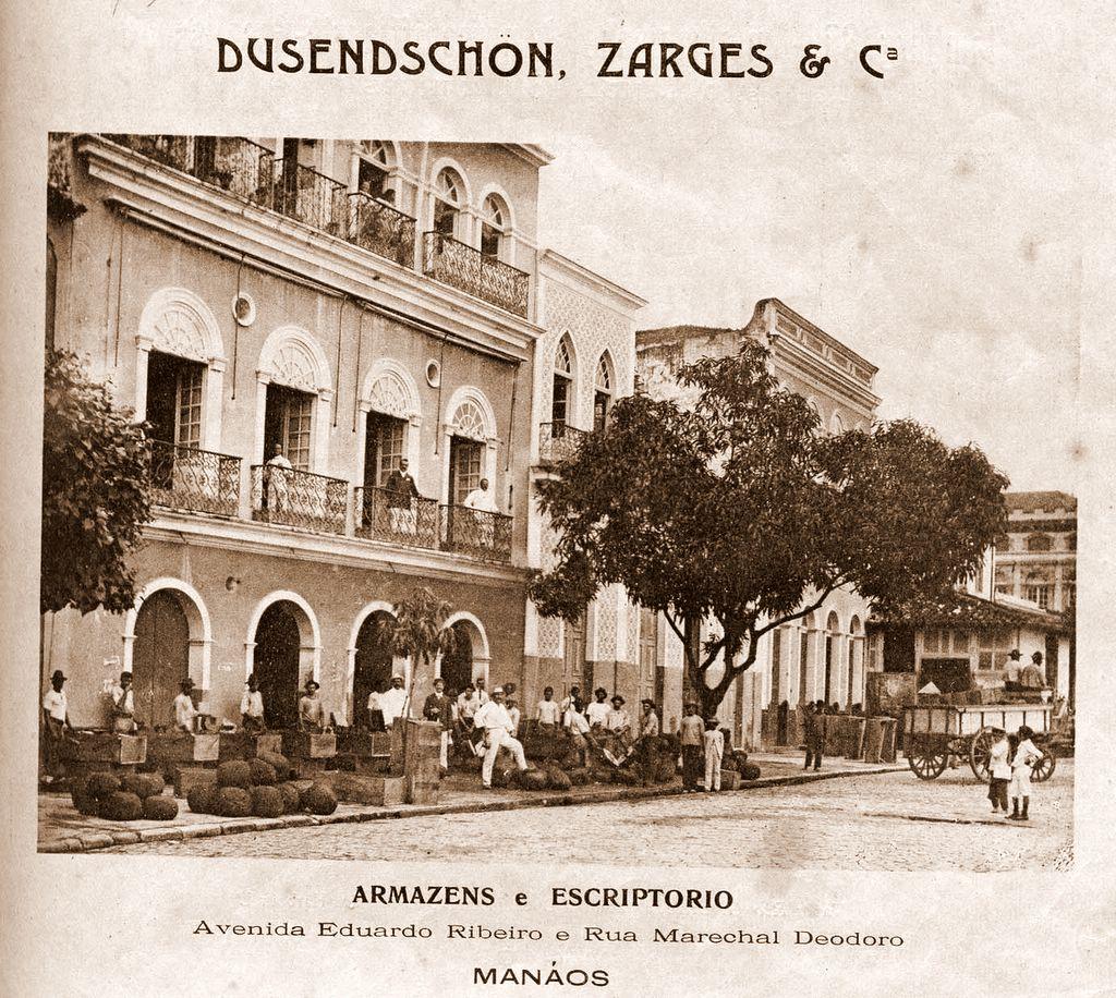 Fachada do Armazém Dusendschon, Zarges & Cia