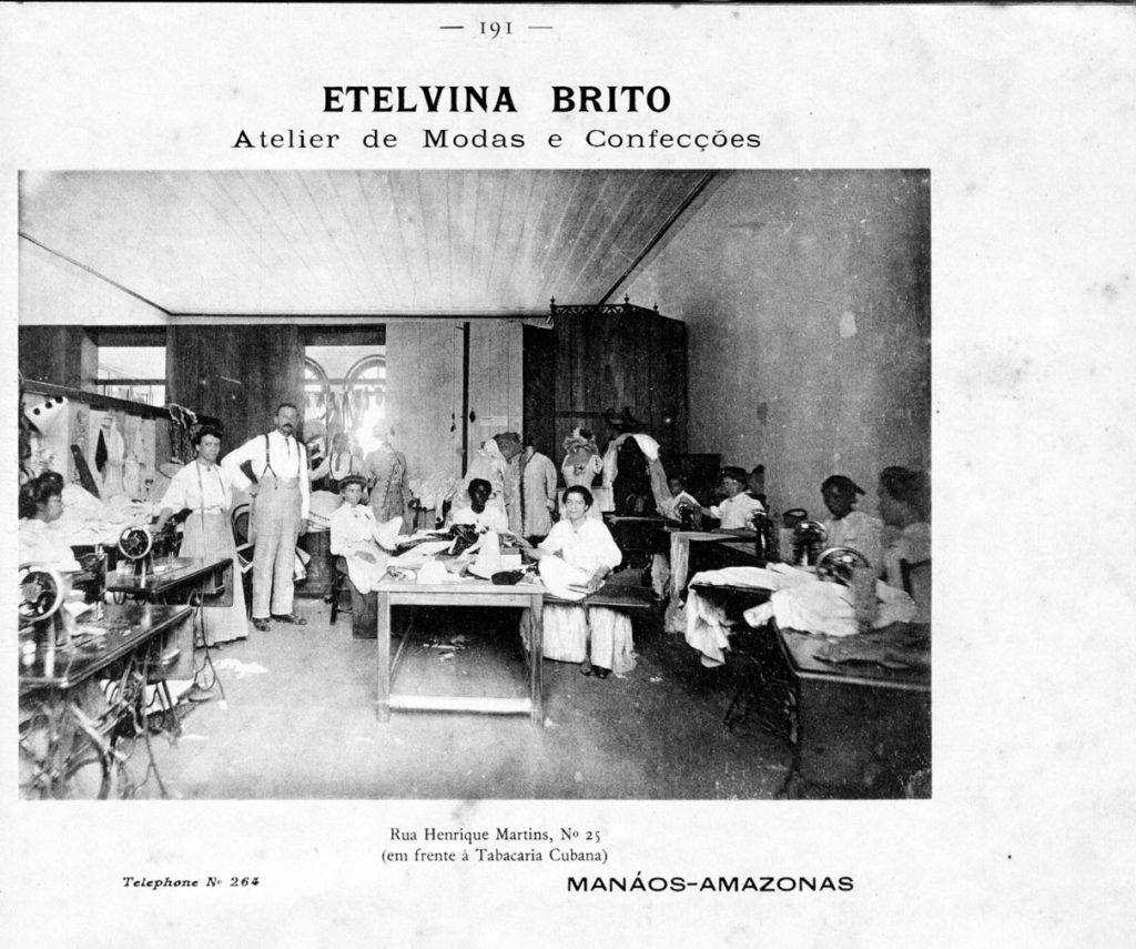 Interior do Atelier de Etelvina Brito