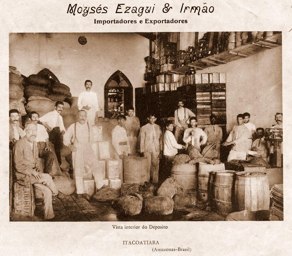 Depósito da Importadora Moysés Ezagui & Irmão