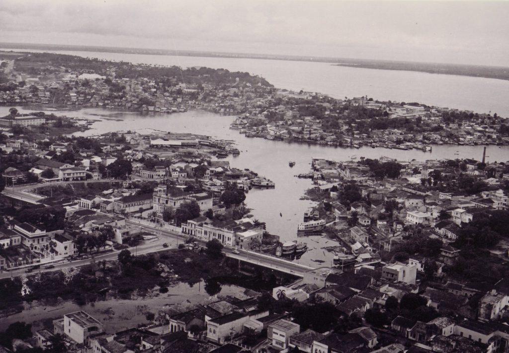 Vista do Rio Negro na década de 1960 - Instituto Durango Duarte