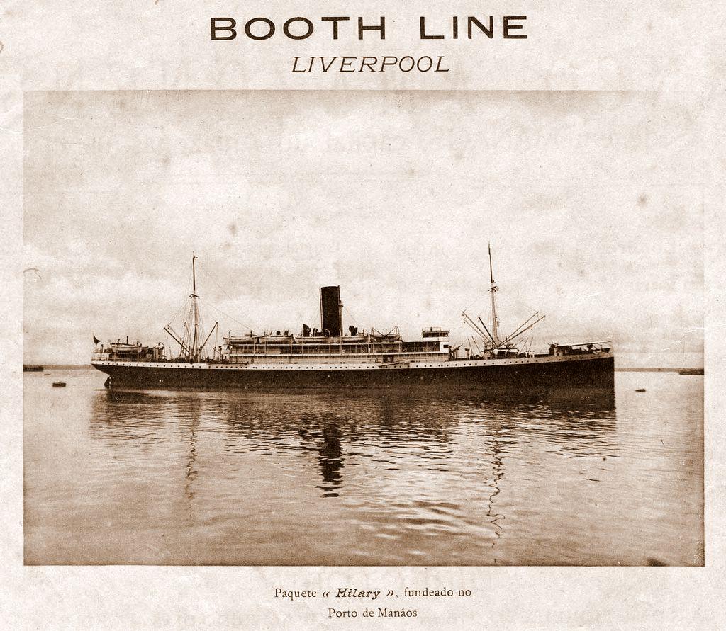 Embarcação da Empresa de Navegação Booth Line