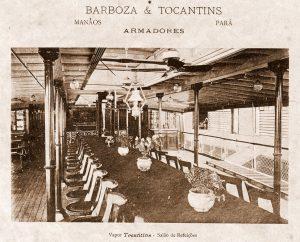 Interior do Barco à Vapor Tocantins