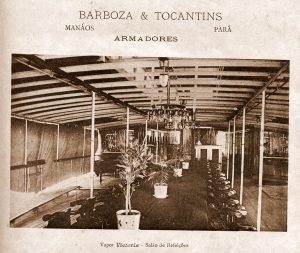 Barco à Vapor Victoria da Empresa Barboza e Tocantins