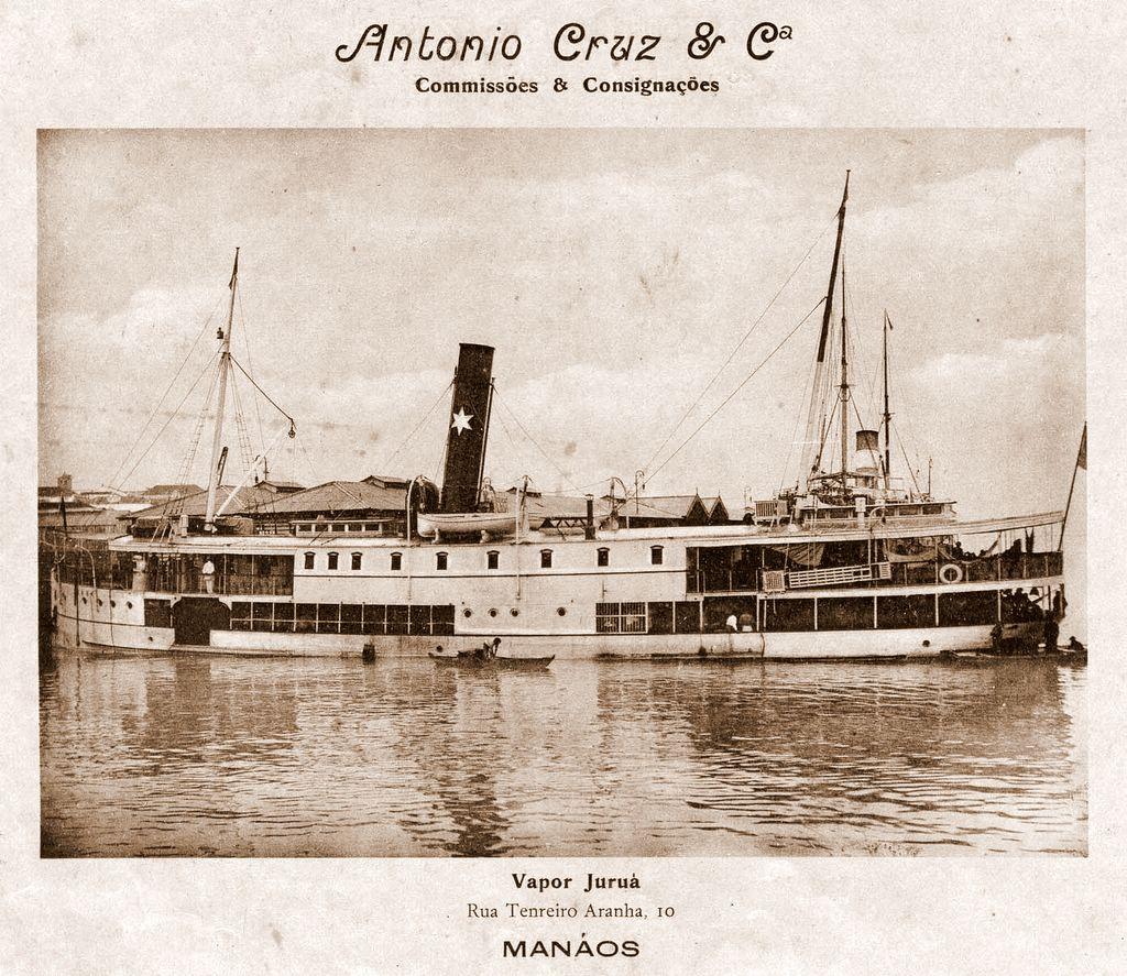 Navio da Empresa de Comissões Antônio Cruz & Cia