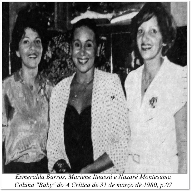 Esmeralda, Mariene e Nazaré - Instituto Durango Duarte 1980