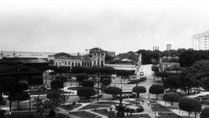 Durango Duarte - Praça Oswaldo Cruz e seus jardins