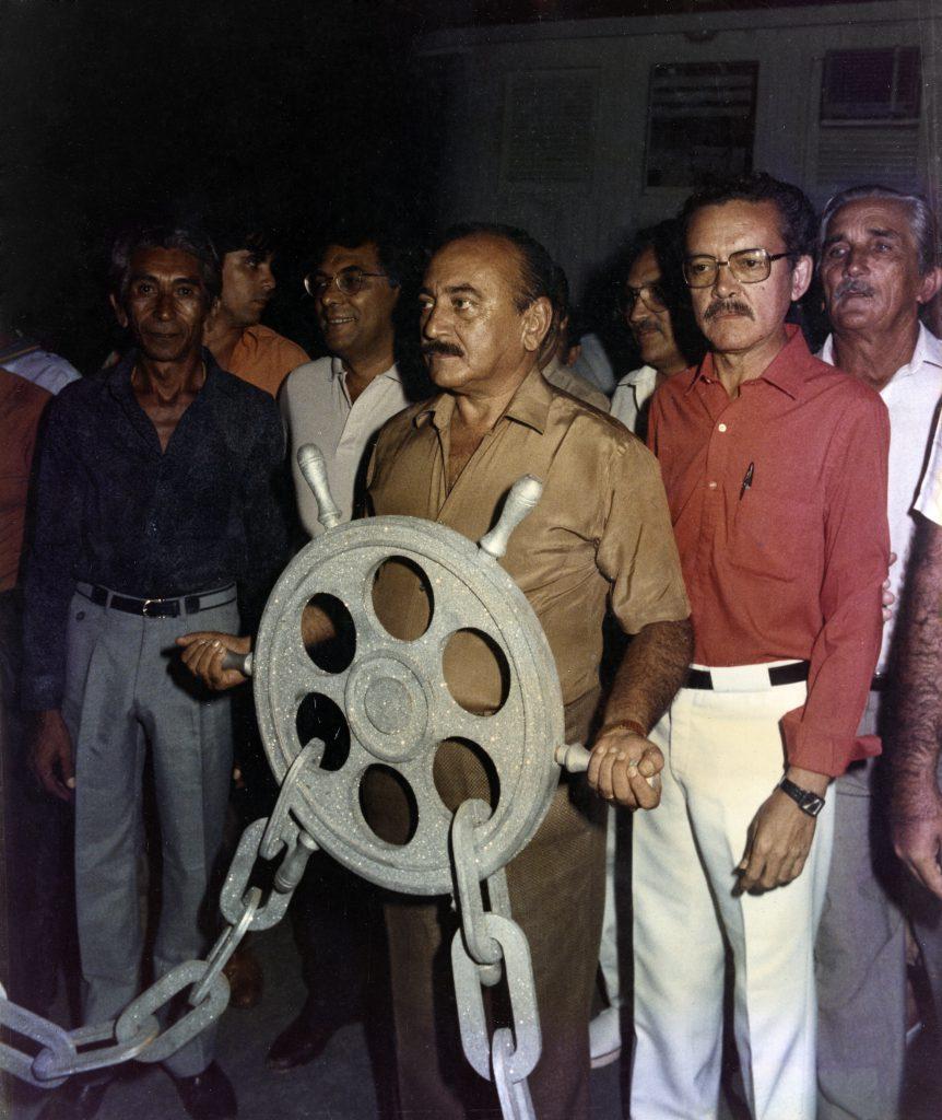 Gilberto Mestrinho segurando o timão - Instituto Durango Duarte