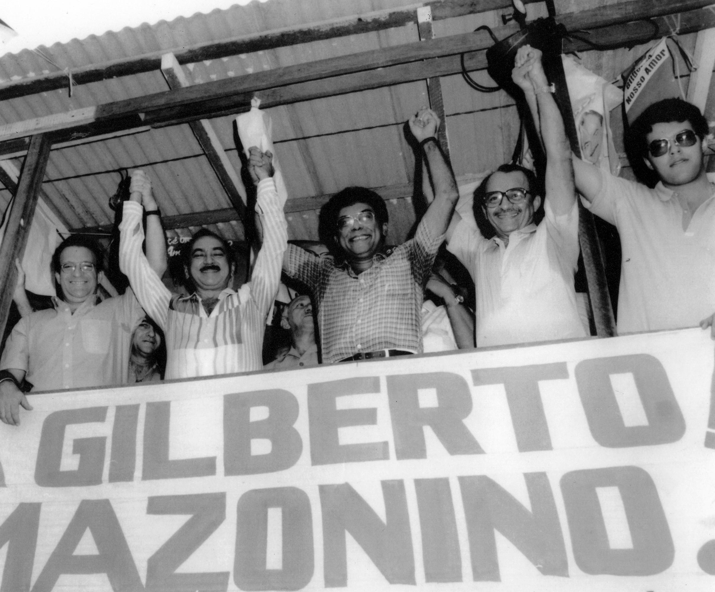 Comício do Gilberto Mestrinho e Amazonino Mendes - IDD