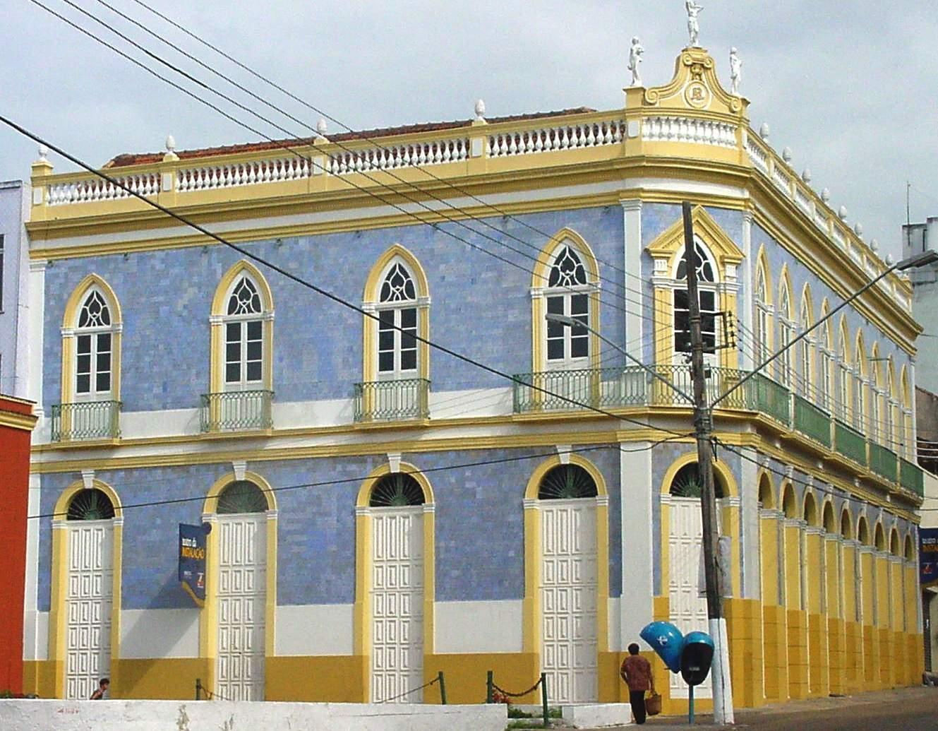Fotografia do Teatro da Instalação - Instituto Durango Duarte