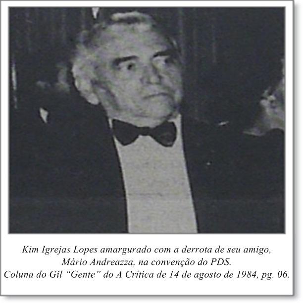 A amargura de Kim Igrejas Lopes - Instituto Durango Duarte