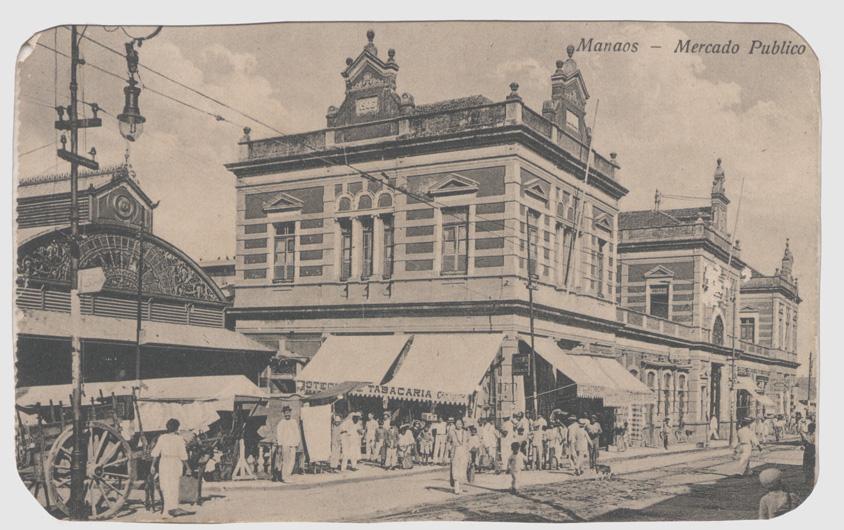Cartão-Postal do Mercado Adolpho Lisboa - Instituto Durango Duarte