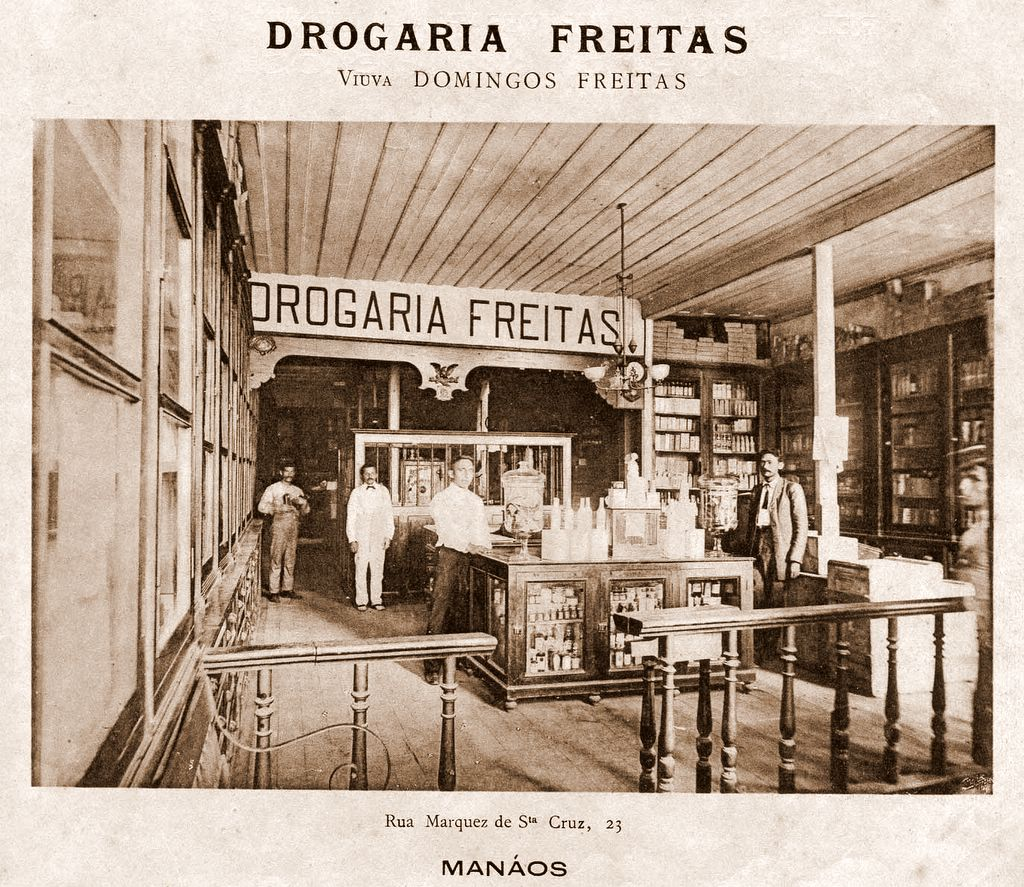 Parte Interna da Drogaria Freitas