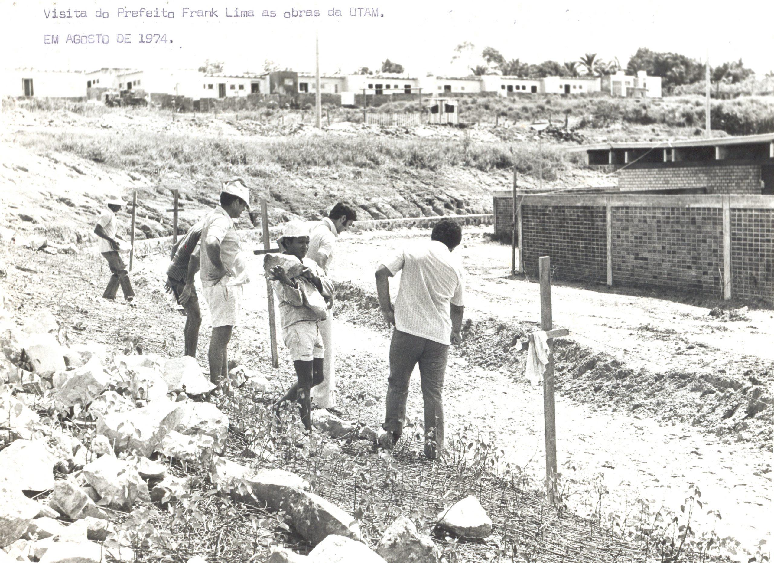 Frank Lima na construção da UTAM - Instituto Durango Duarte