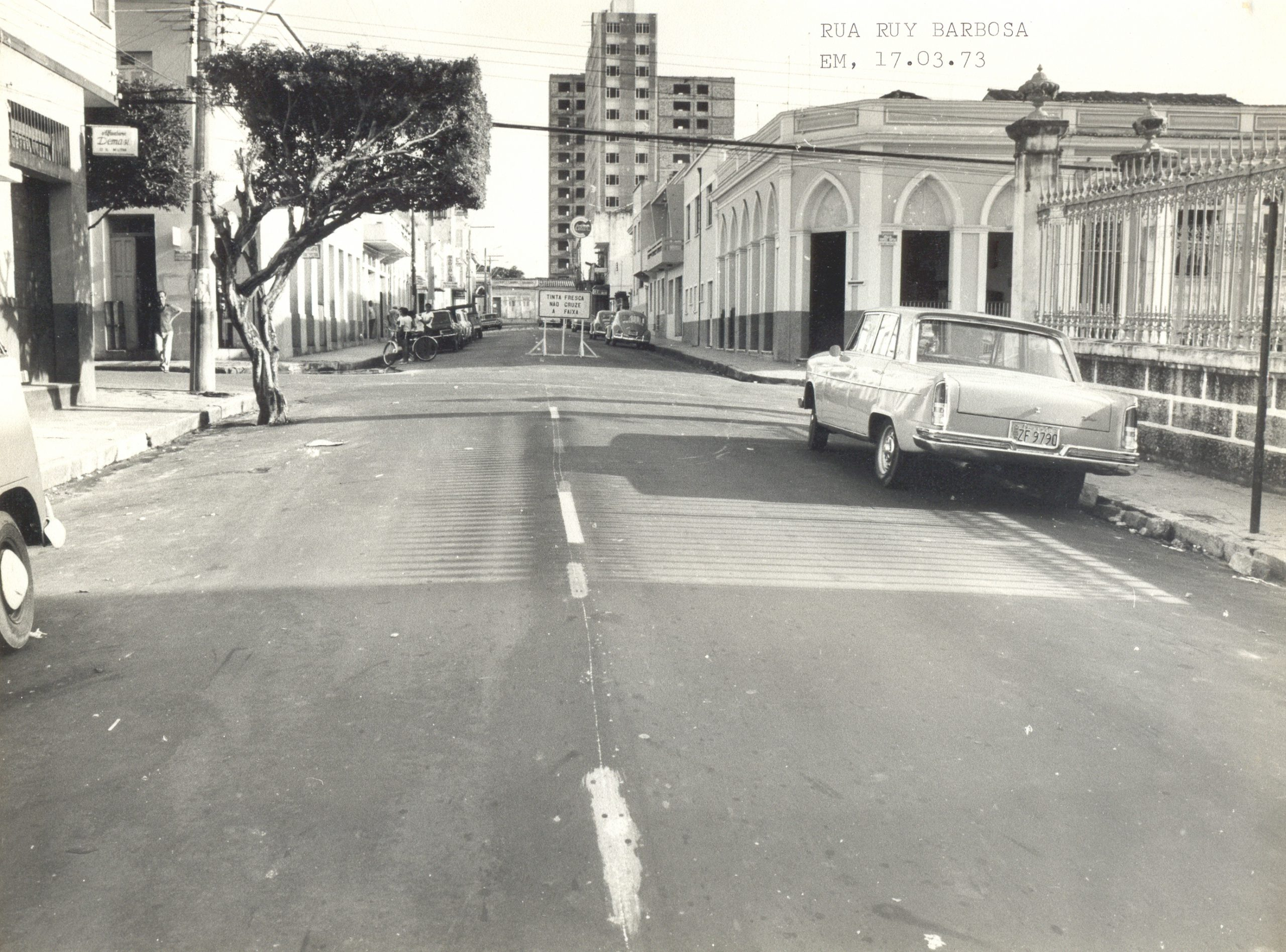 Trecho da Rua Ruy Barbosa - Instituto Durango Duarte