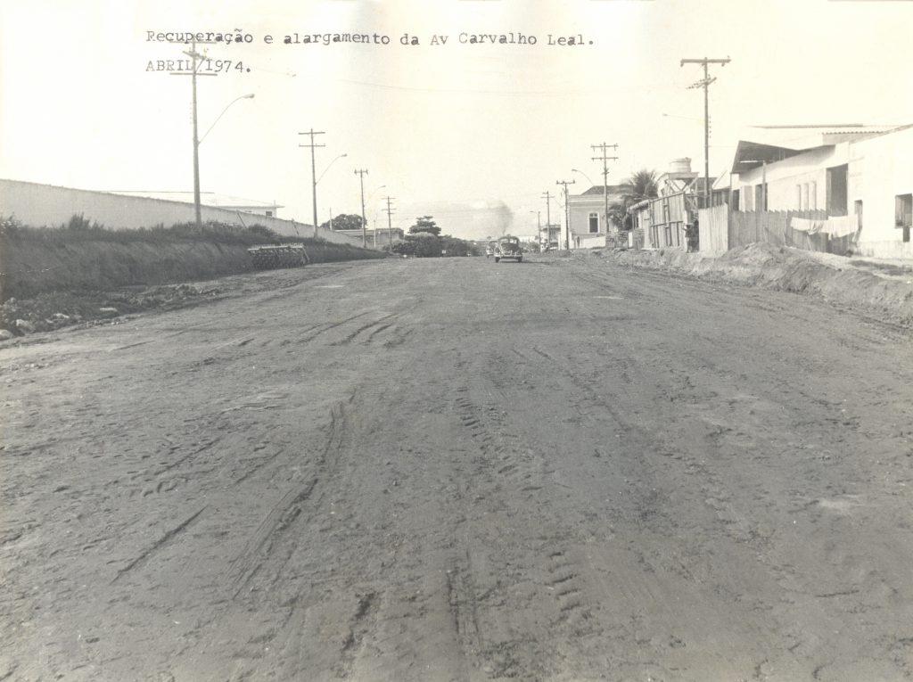 Recuperação e alargamento da Avenida Carvalho Leal - IDD