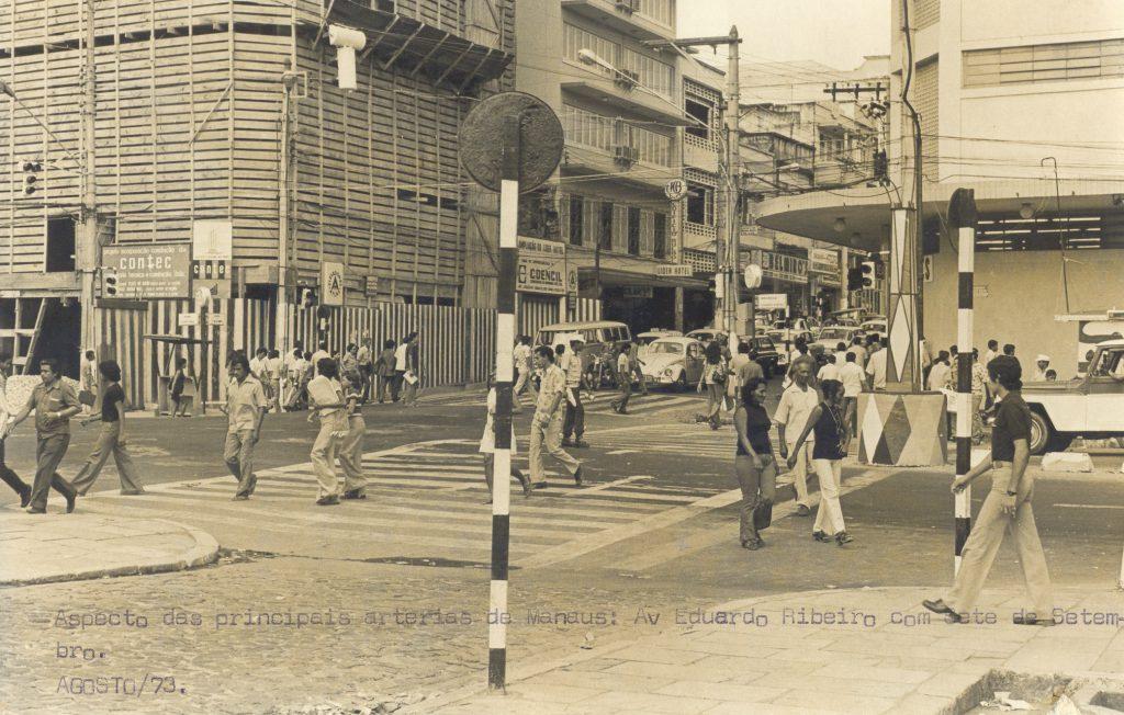 Avenidas Eduardo Ribeiro e Sete de Setembro - Instituto Durango Duarte