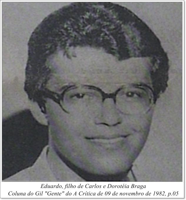 Fotografia Carlos Eduardo Braga - Instituto Durango Duarte 1982