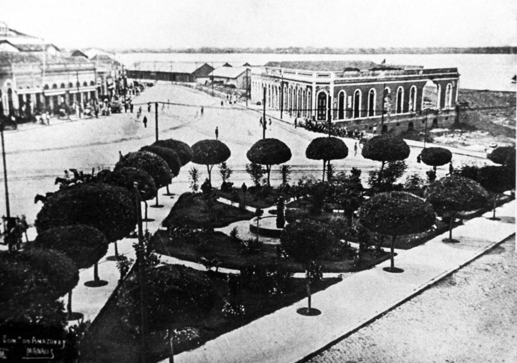 Jardim da Praça Tamandaré
