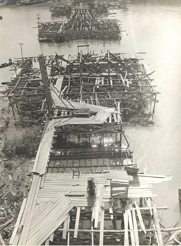 Esqueleto da obra da Ponte do Educandos - Instituto Durango Duarte