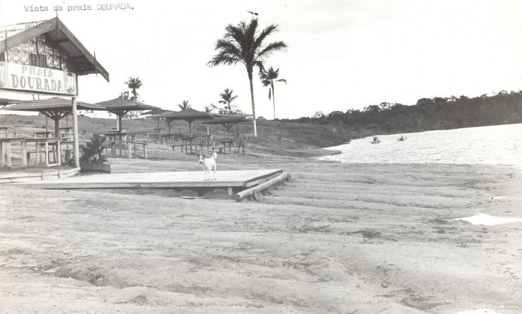 Vista do balneário da Praia Dourada - Instituto Durango Duarte