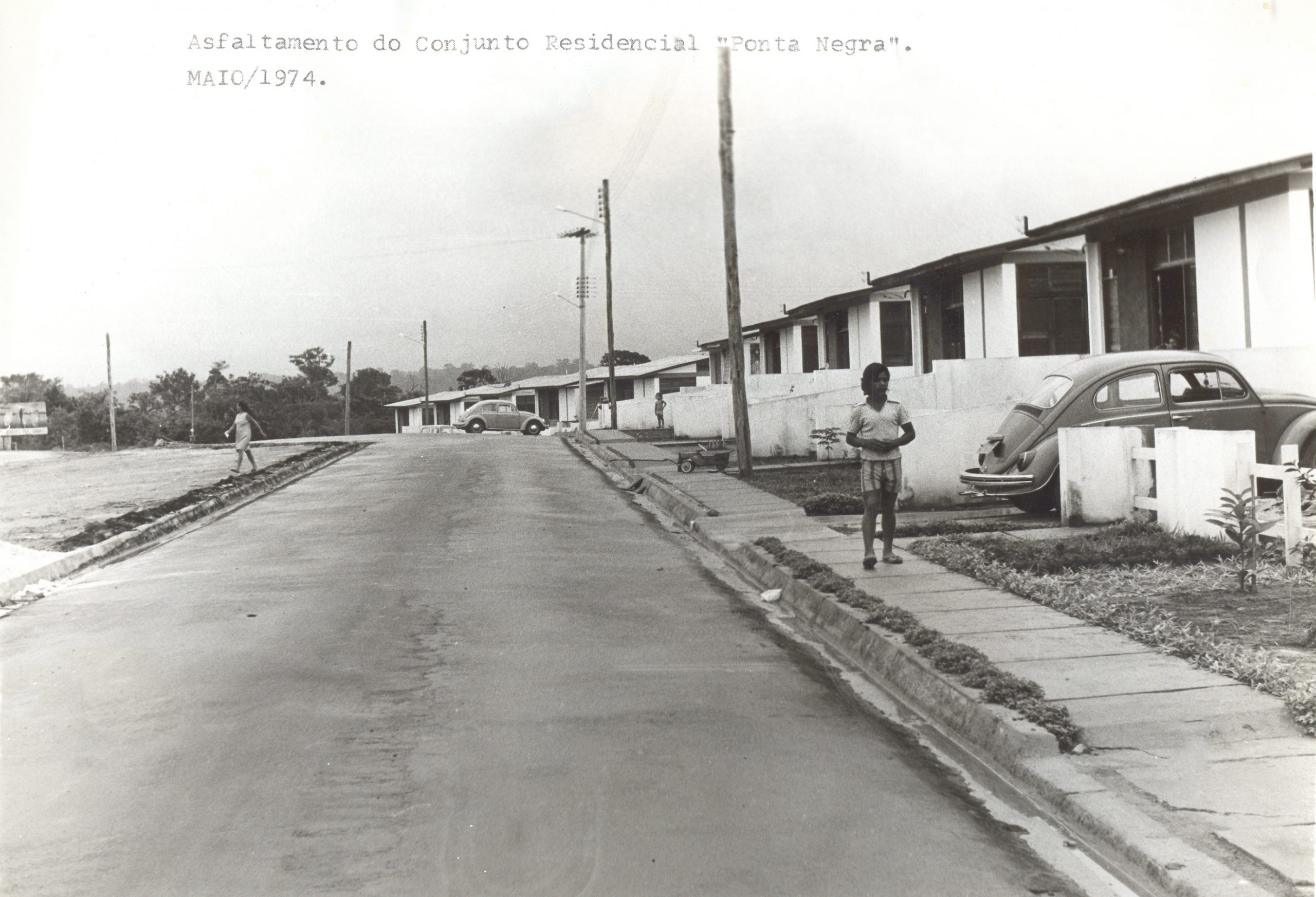 Asfaltamento do Conjunto Ponta Negra - Instituto Durango Duarte