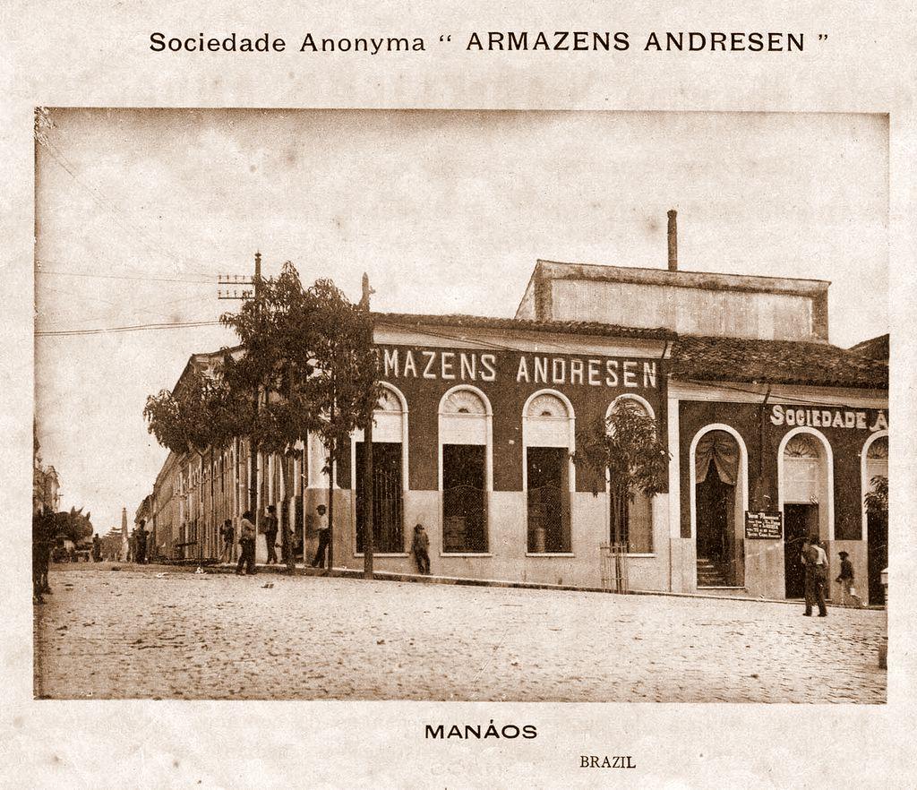 Fachada dos Armazéns Andresen
