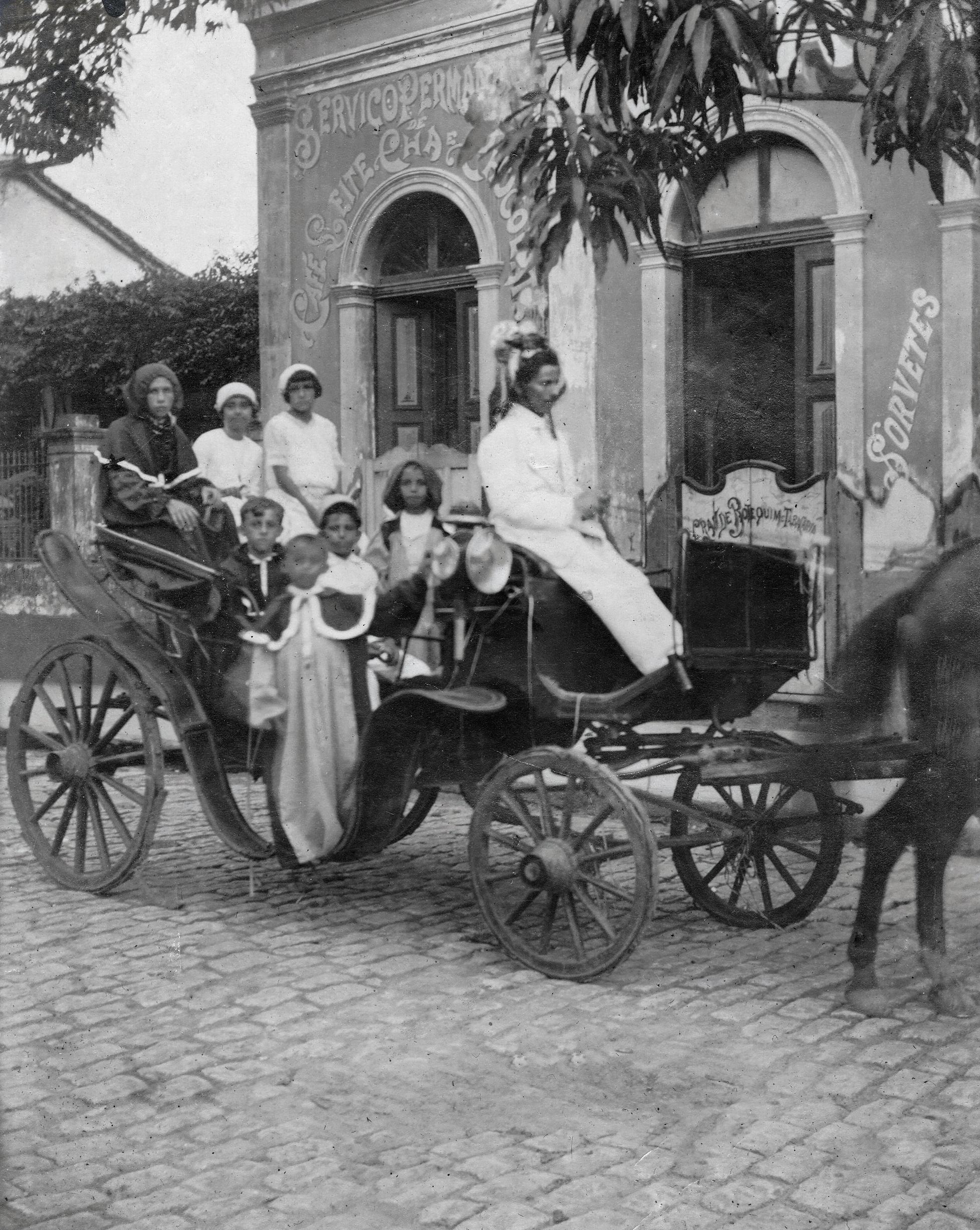 Memória do Carnaval de Manaus 1915 - Instituto Durango Duarte