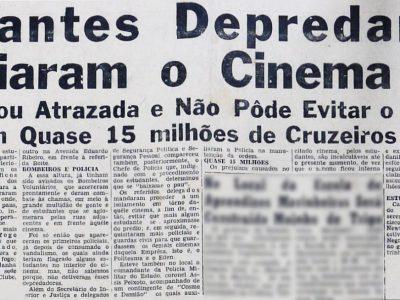 Vandalismo no Cinema Odeon