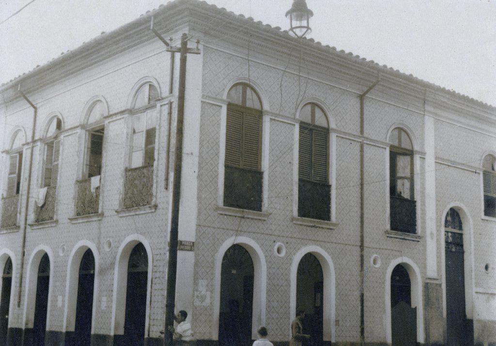 Casa antiga na rua Governador Vitório - Instituto Durango Duarte