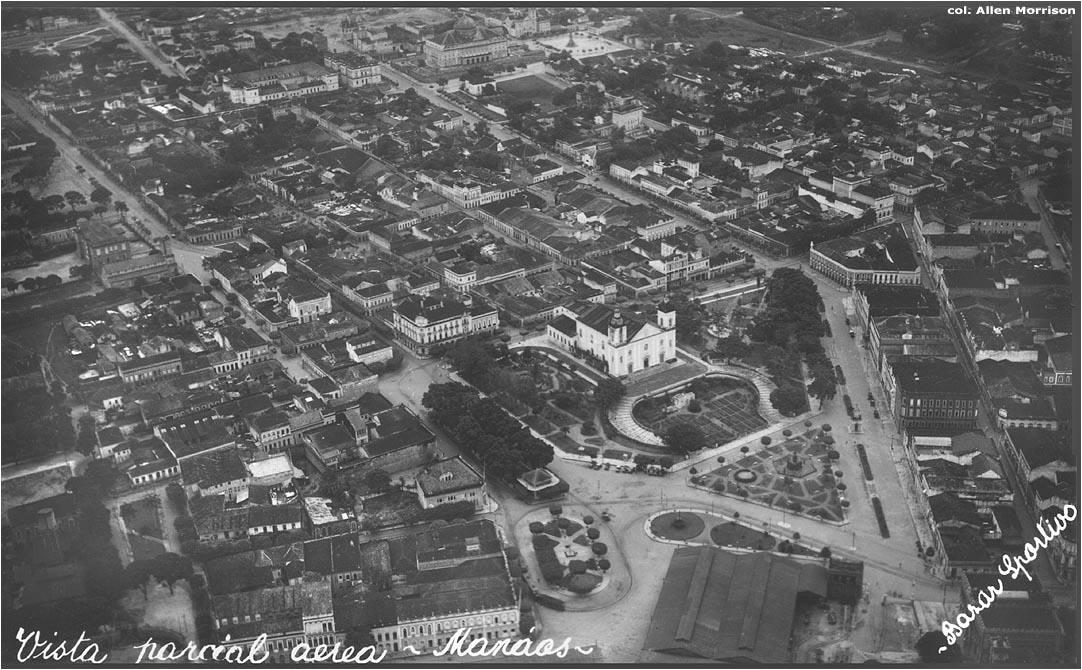 Vista aérea do Centro de Manaus - Instituto Durango Duarte