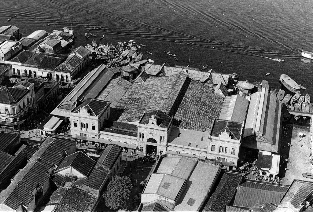 Vista aérea do Mercado Adolpho Lisboa - Instituto Durango Duarte