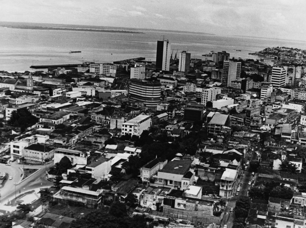 Vista aérea para o Centro de Manaus - Instituto Durango Duarte