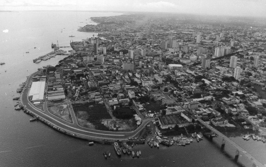 Vista aérea da Avenida Lourenço Braga - Instituto Durango Duarte