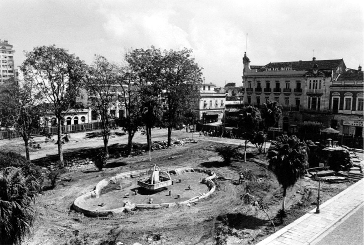 Reforma na Praça Oswaldo Cruz - Instituto Durango Duarte