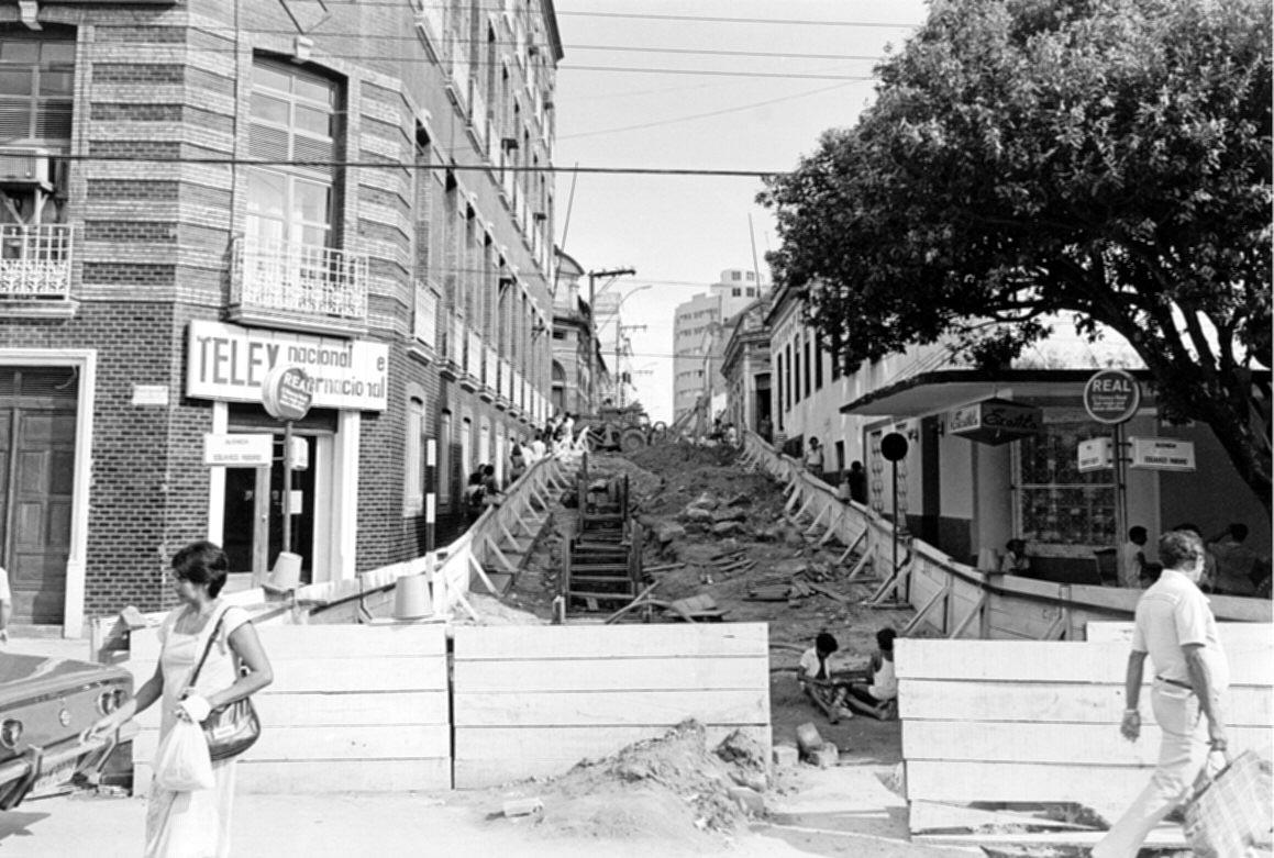 Reforma na Rua Teodoreto Souto - Instituto Durango Duarte
