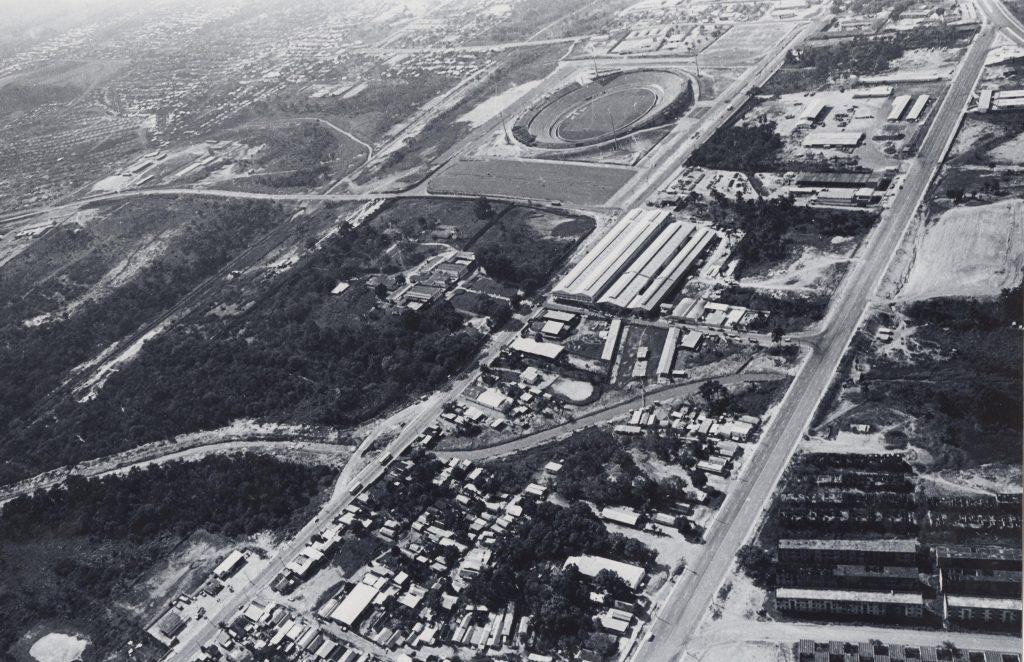 Vista aérea do Vivaldão na Zona Oeste - Instituto Durango Duarte