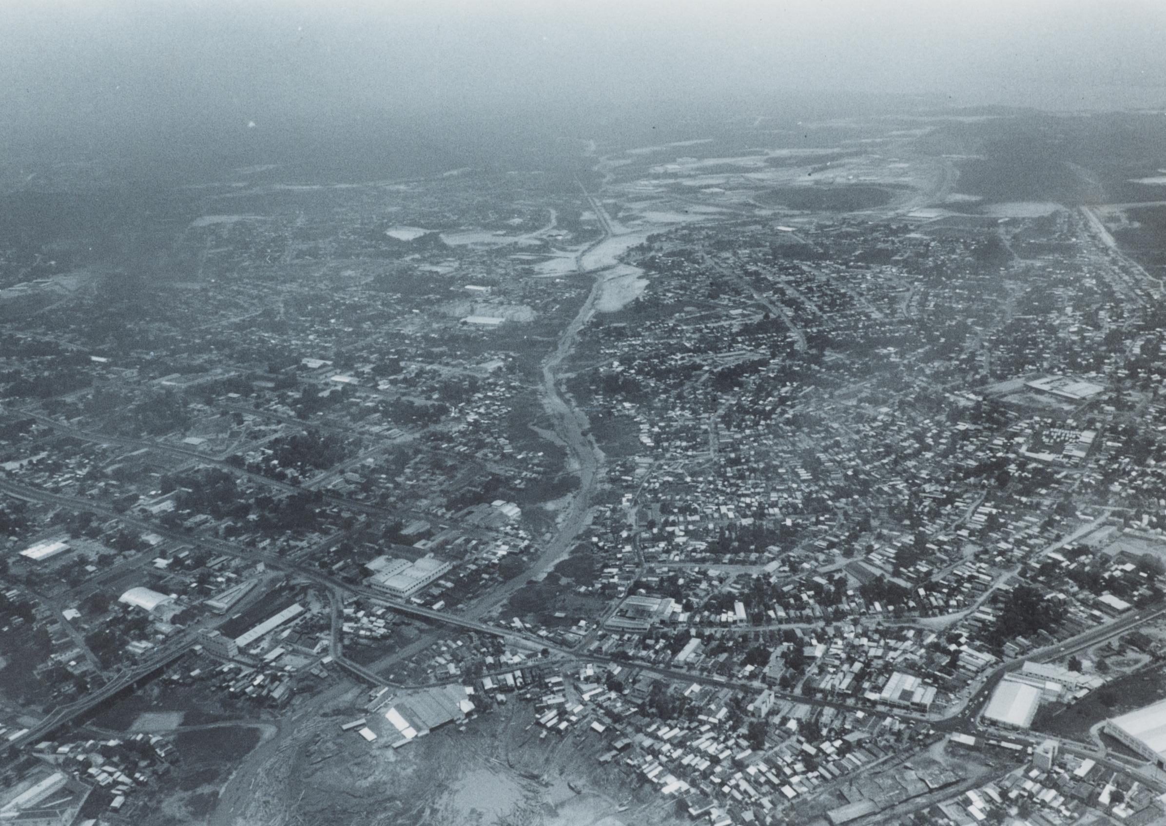 Vista aérea das pontes de Manaus - Instituto Durango Duarte