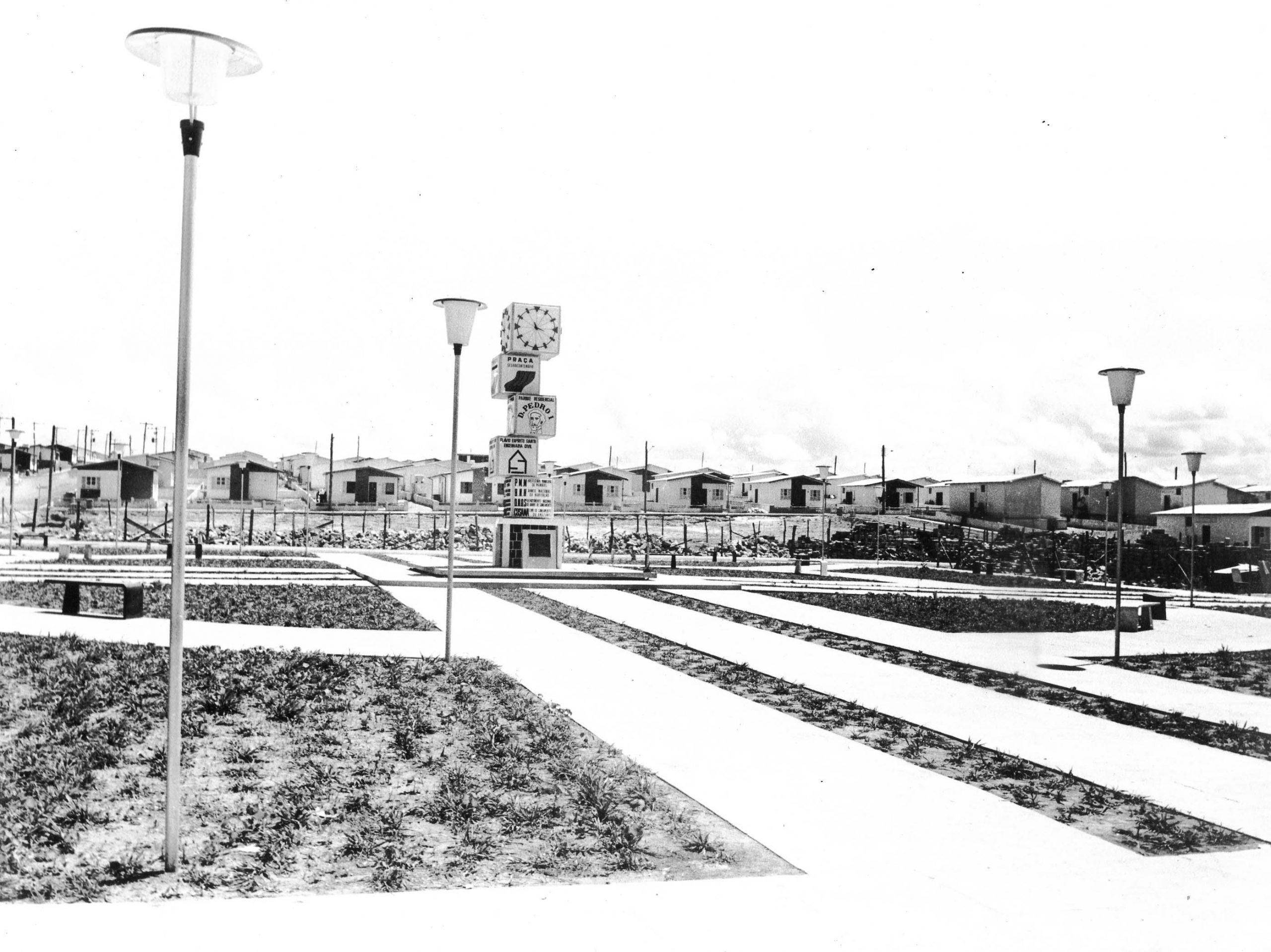 Vista parcial do Conjunto Residencial Dom Pedro I - IDD