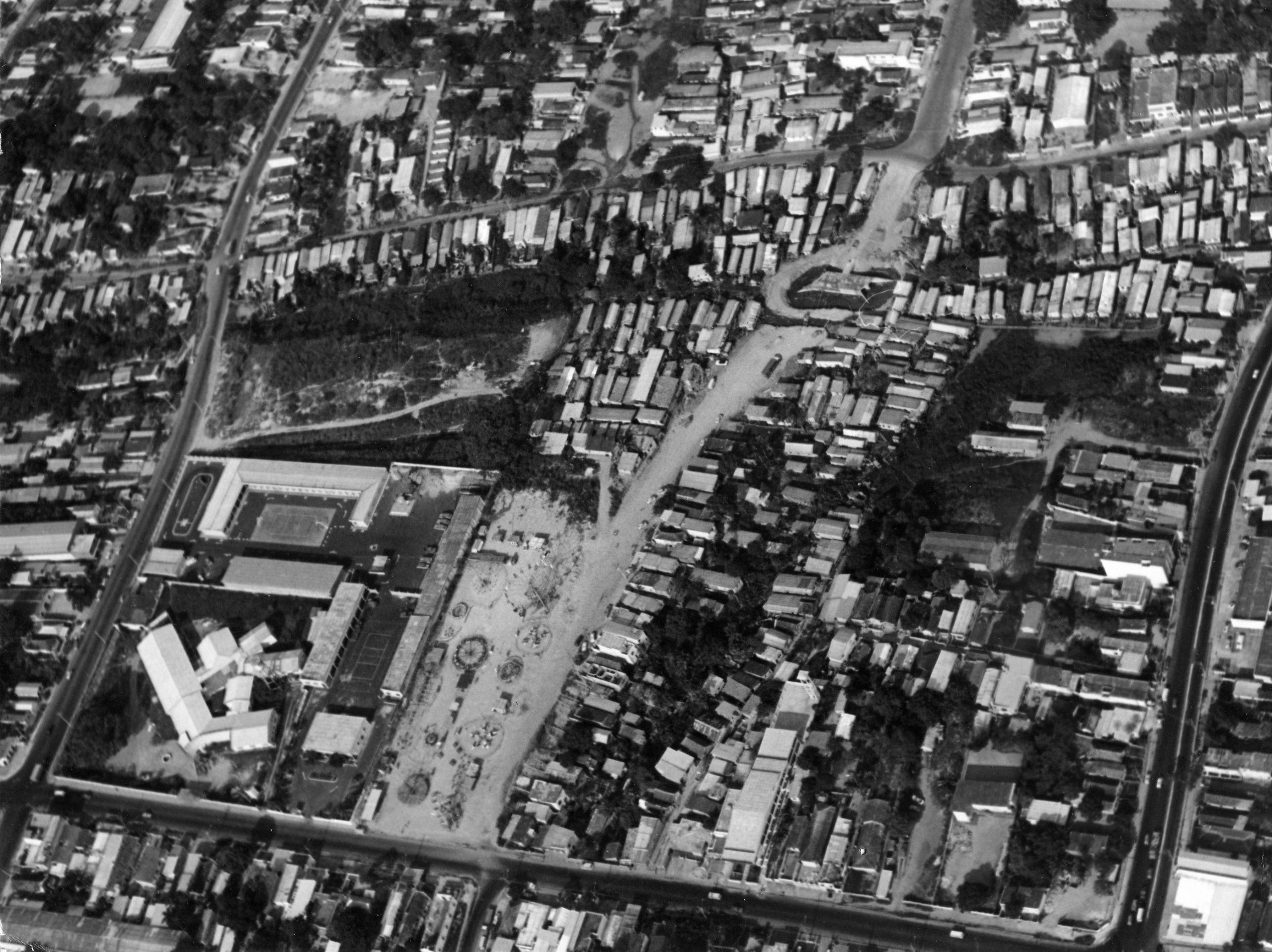 Vista aérea do Quartel da Polícia Militar - Instituto Durango Duarte