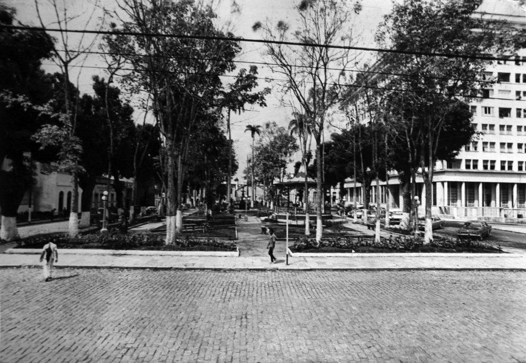 Vista aérea da Praça Dom Pedro II - Instituto Durango Duarte