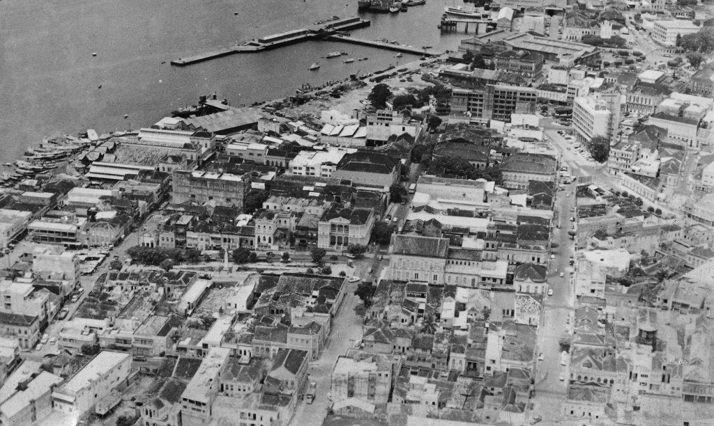 Vista aérea da Rua Miranda Leão - Instituto Durango Duarte