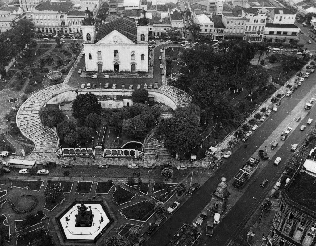 Vista aérea da Catedral de Nossa Senhora da Conceição - IDD